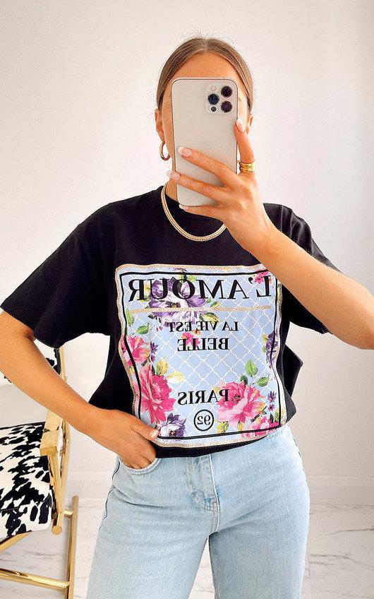Amal Floral Printed T-Shirt