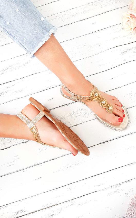 Amerie Diamante Embellished Sandals