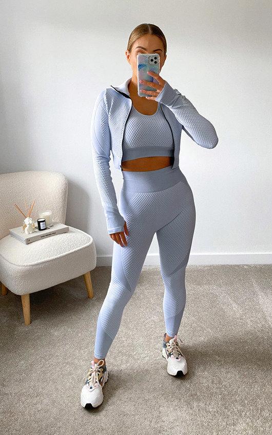 Amira Active Wear Three Piece Co-ord