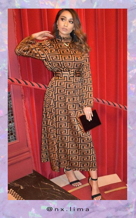 Ana Printed Maxi Dress