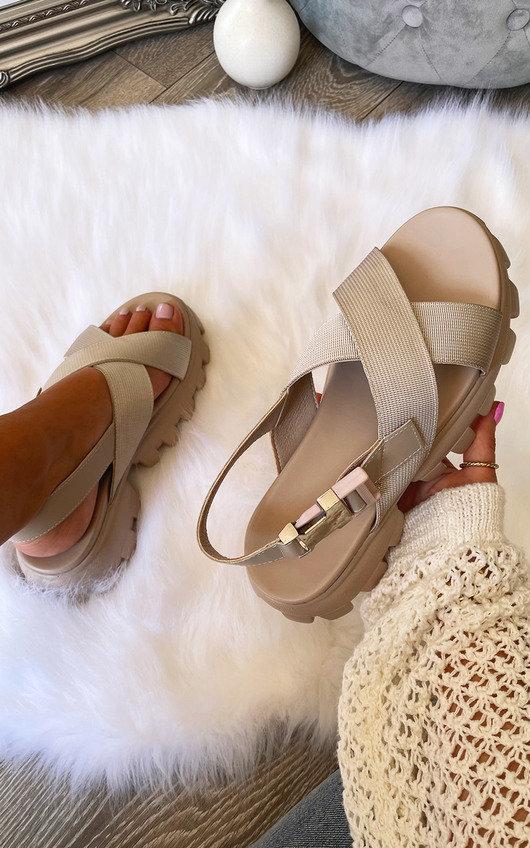 Angelina Cross Over Sandals