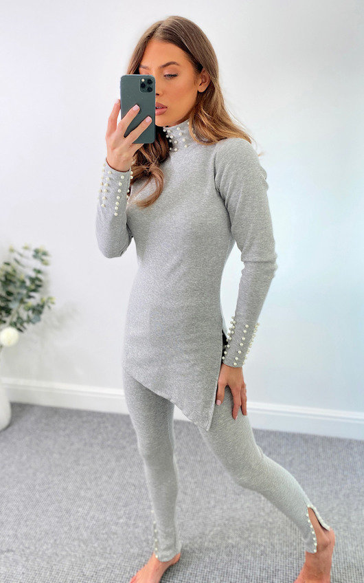 Anji Pearl Knitted Co-Ord