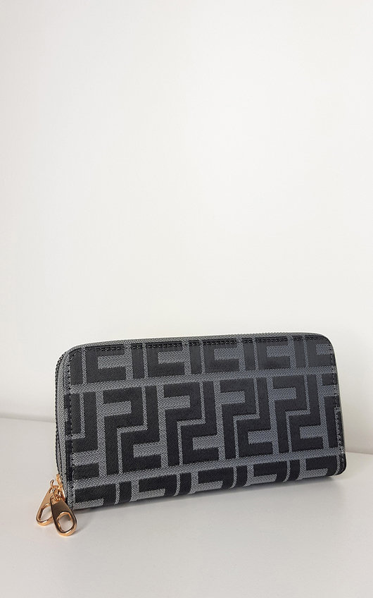 Anna Large Patterned Purse