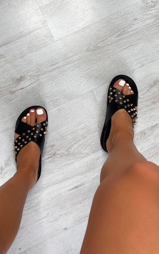 Antonia Studded Strappy Sandals