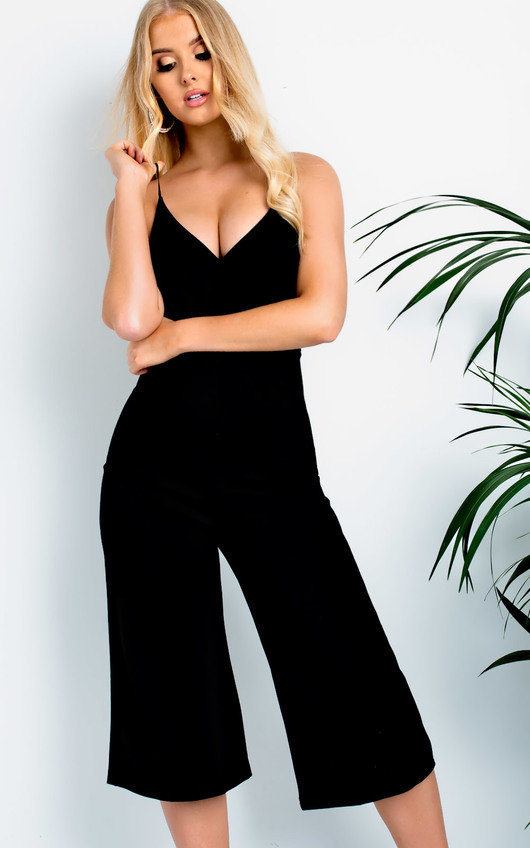 Aoife Cropped Jumpsuit