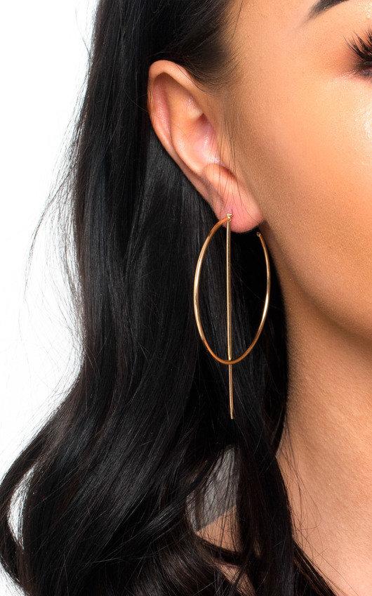 Aoife Statement Hoop Earrings