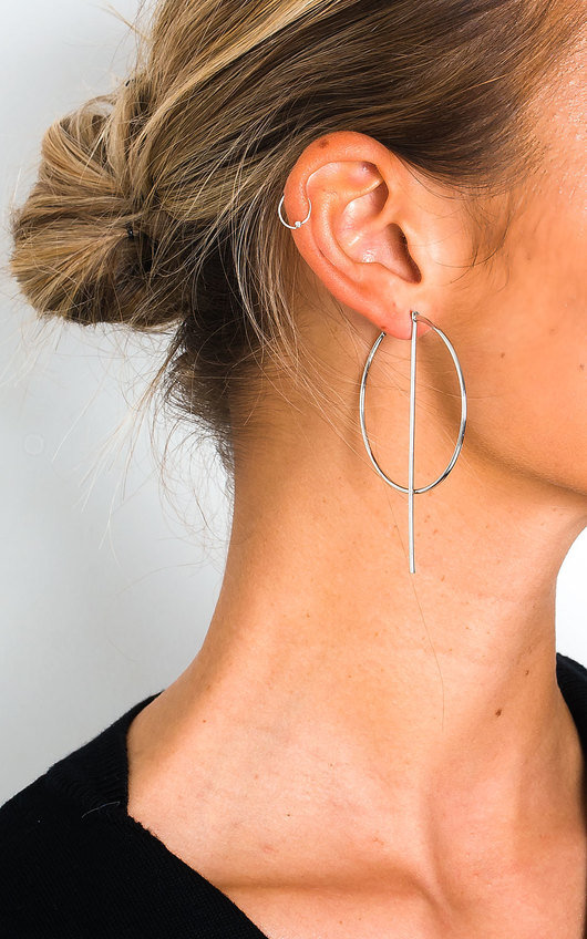 Aoife Statement Hoop Earrings
