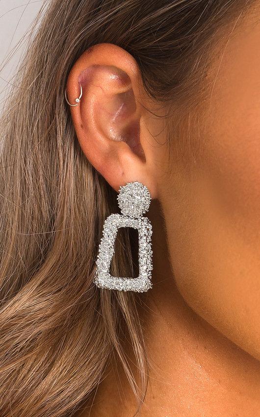 April Statement Mini Drop Earrings