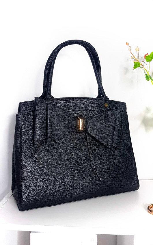 Arabella Bow Detail Handbag