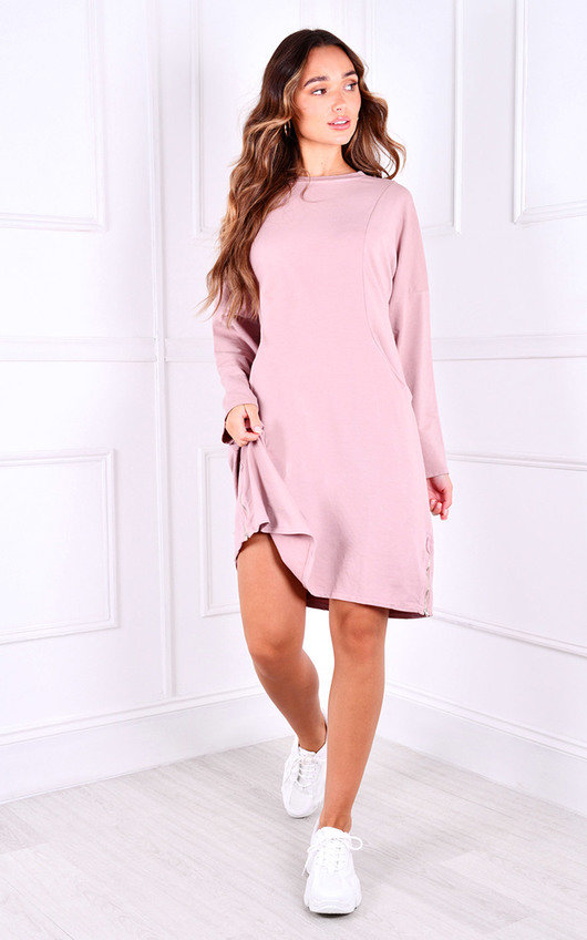 Arella Oversized Jumper Dress