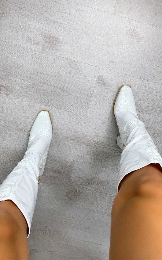Aria Knee High Heeled Boots