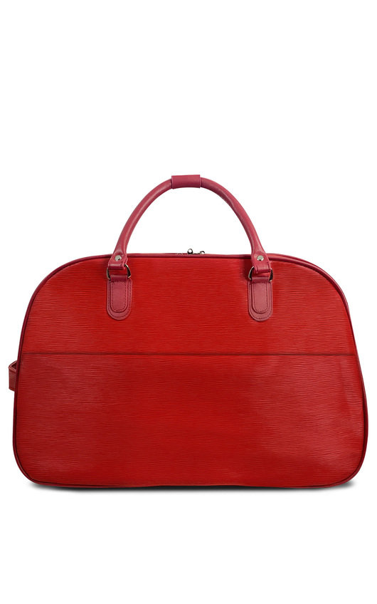 Aria Textured Travel Trolley Bag