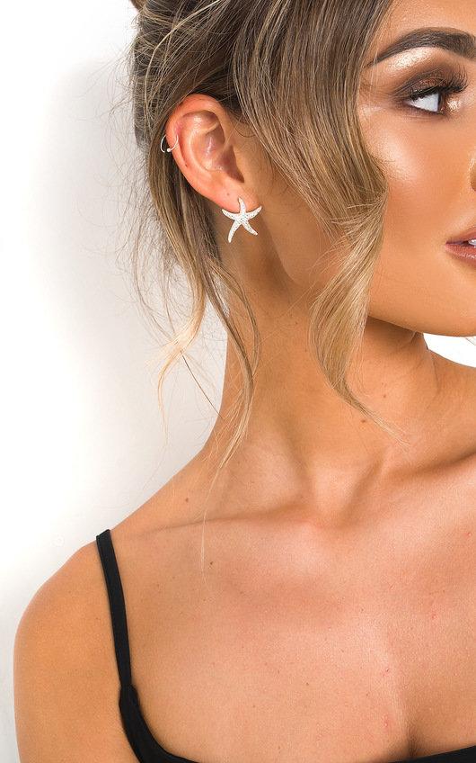 Ariel Starfish Stud Earrings