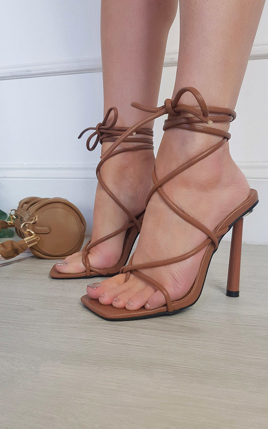 Ash Lace Up Heels