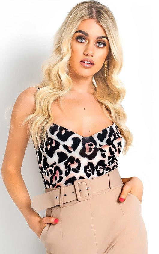 Asha Leopard Print Bodysuit