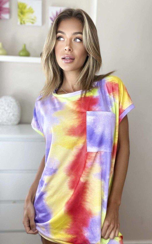 Asha Tie Dye Oversized Top