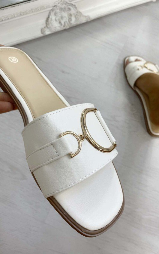 Ashleigh Gold Detail Sliders
