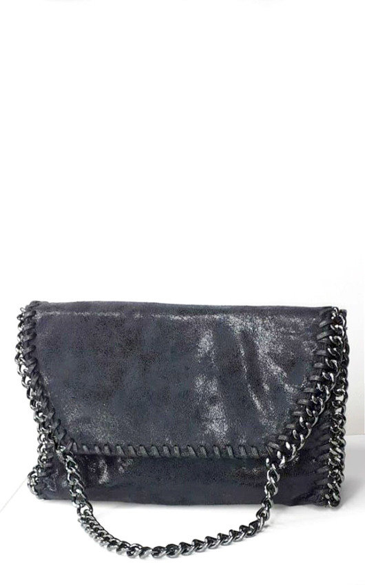 Aspen Chain Detail Shoulder Bag
