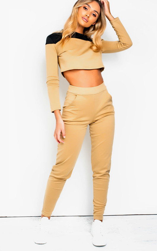 Astrid Colour Block Lounge Co-ord