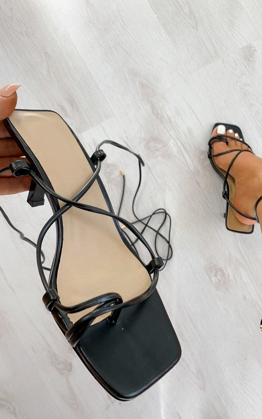 Astro Lace Up Heels