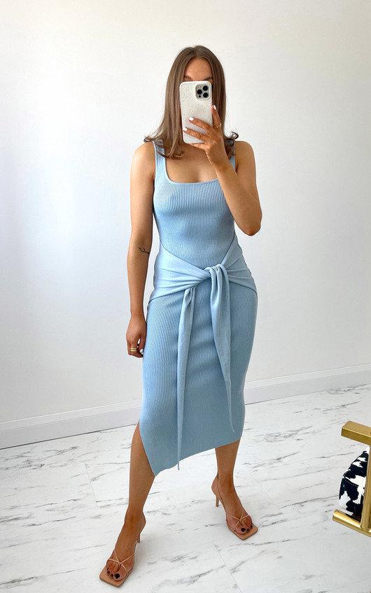 Atlanta Knitted Bodycon Midi Dress