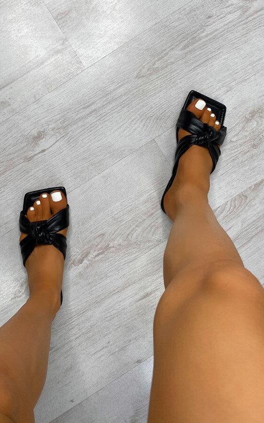 Autumn Tie Knot Sandals