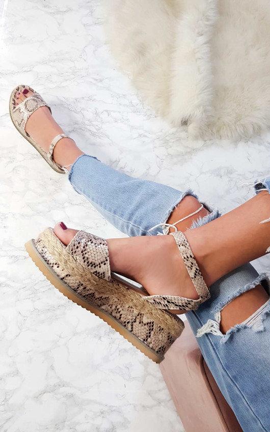 Ava Flatform Sandals