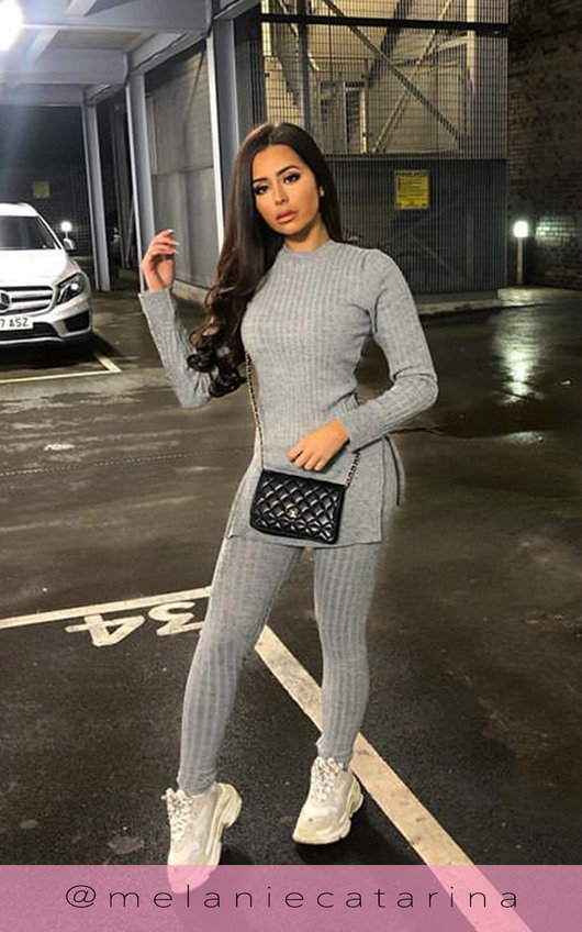 Ava Knitted Lounge Co-ord