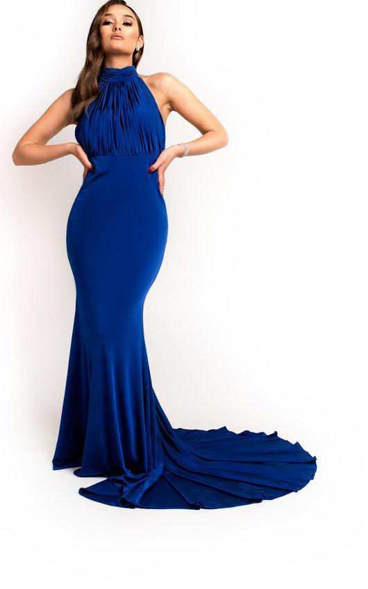 Avery Halterneck Backless Maxi Dress