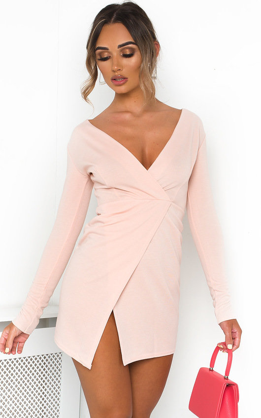 Ayia Long Sleeve Bodycon Mini Dress