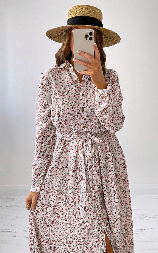 Ayla Maxi Shirt Dress