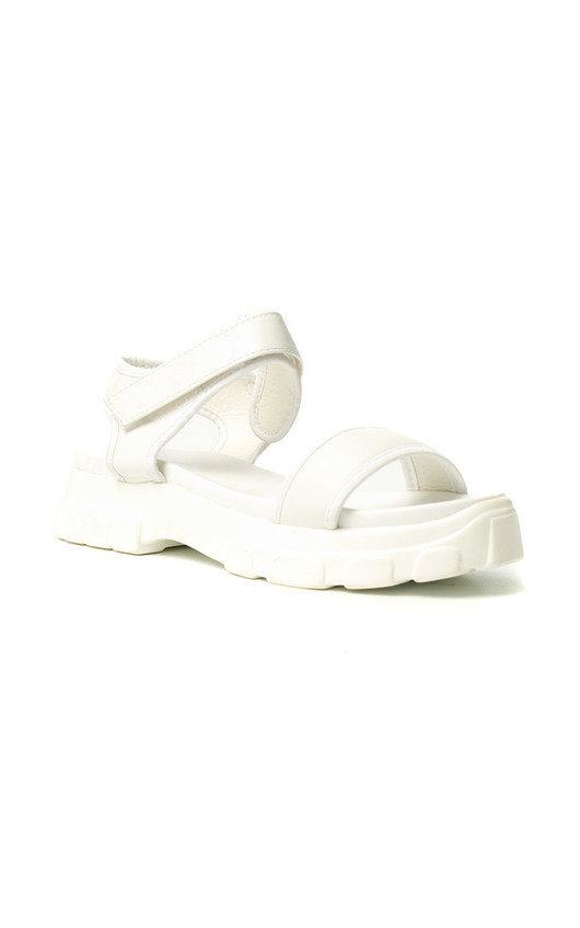 22a22a517 Ayla Strap Chunky Sandals in White