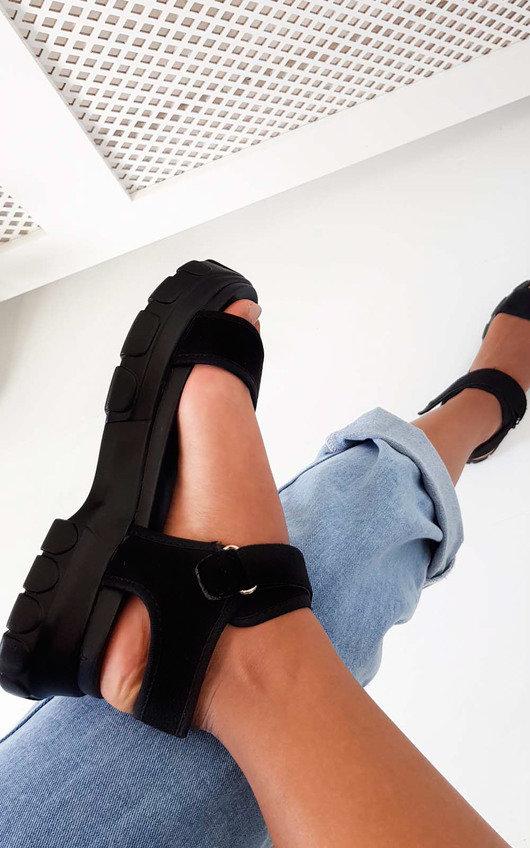 Ayla Strap Chunky Sandals