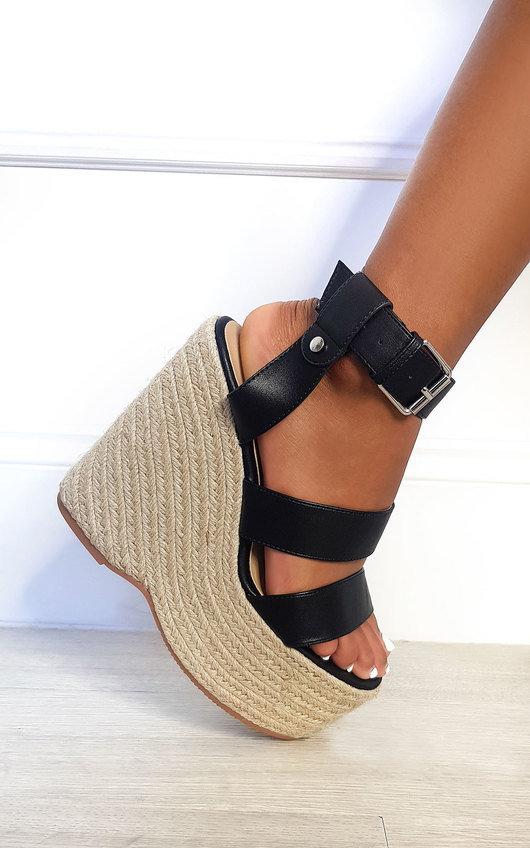 Bailey Espadrille Wedged Heels