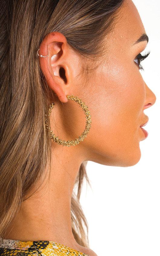 Bali Spiked Hoop Earrings