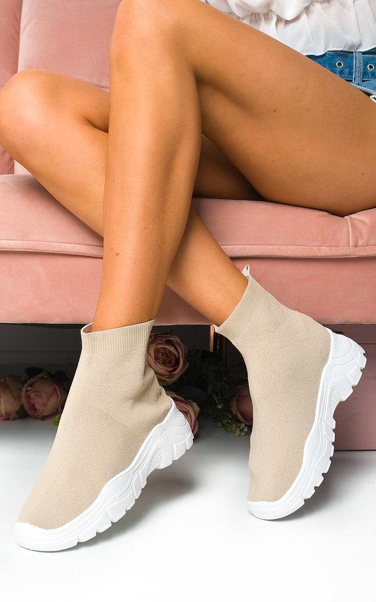 Becca Pull On Sock Trainer