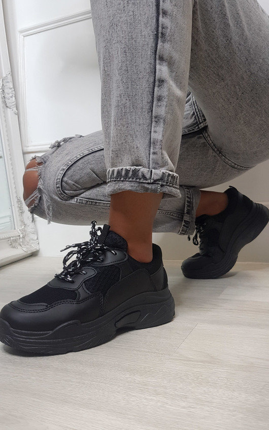 Beck Mesh Chunky Trainers