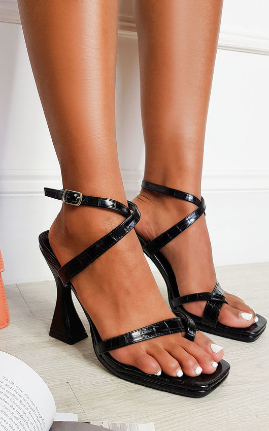 Bella Strappy Statement High Heels