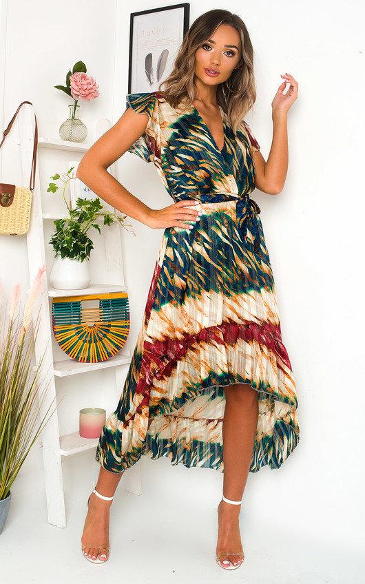 Benny Bold Print Maxi Dress