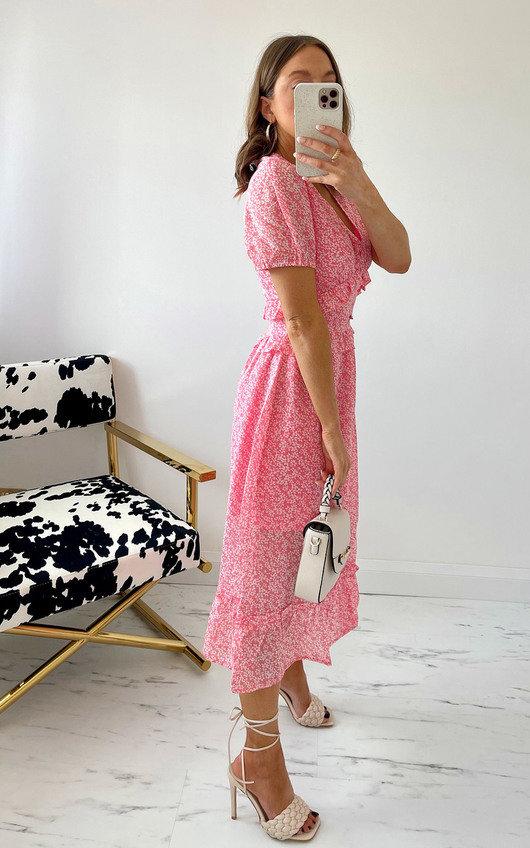 Bessie Floral Midi Dress