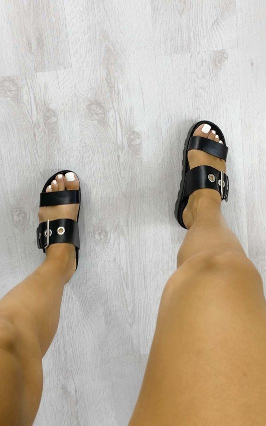 Beth Chunky Flatform Buckle Sandals