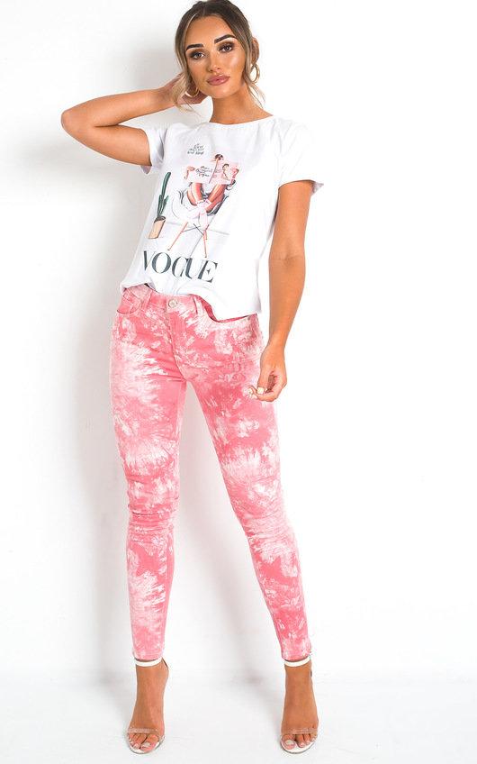 Bethan Tie Dye Skinny Jeans