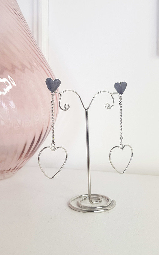 Betti Heart Earrings