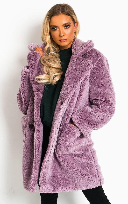 Betty Teddy Bear Coat