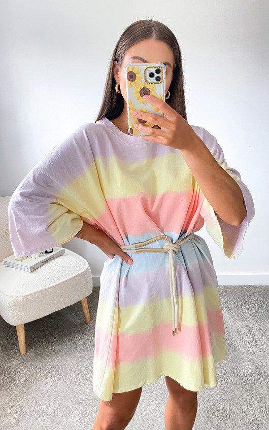 Birdie Oversized T Shirt Dress