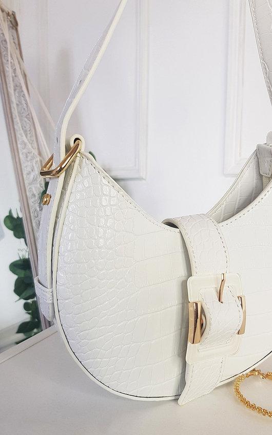Bloom Buckle Cross Body Bag