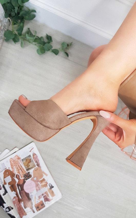 Bonnie Chunky Platform High Heels