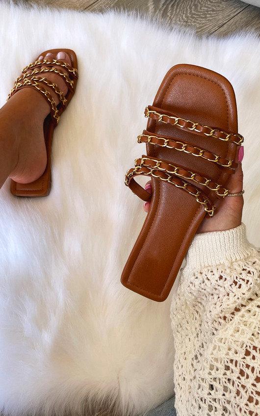 Brielle Chain Detail Sandals