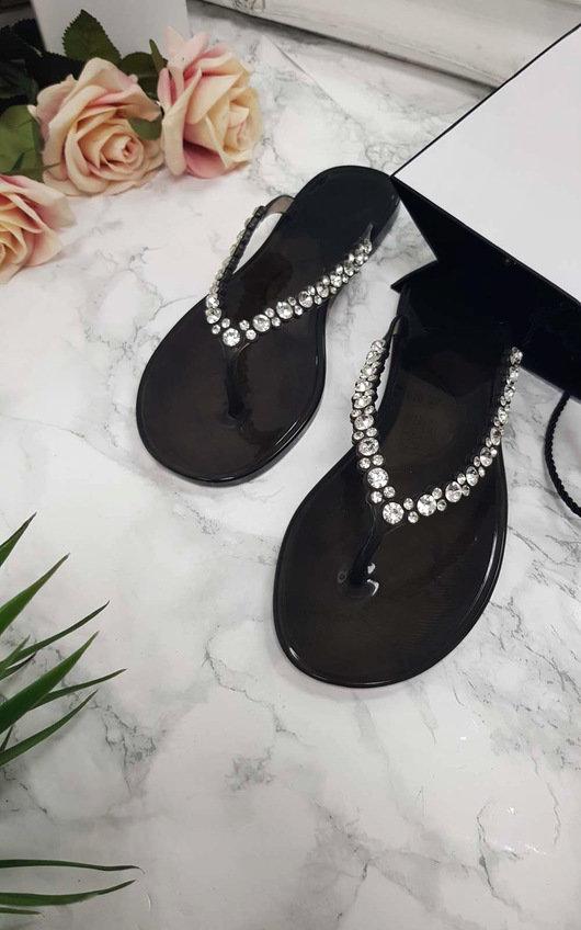 Brina Diamante Flip Flop Sandals