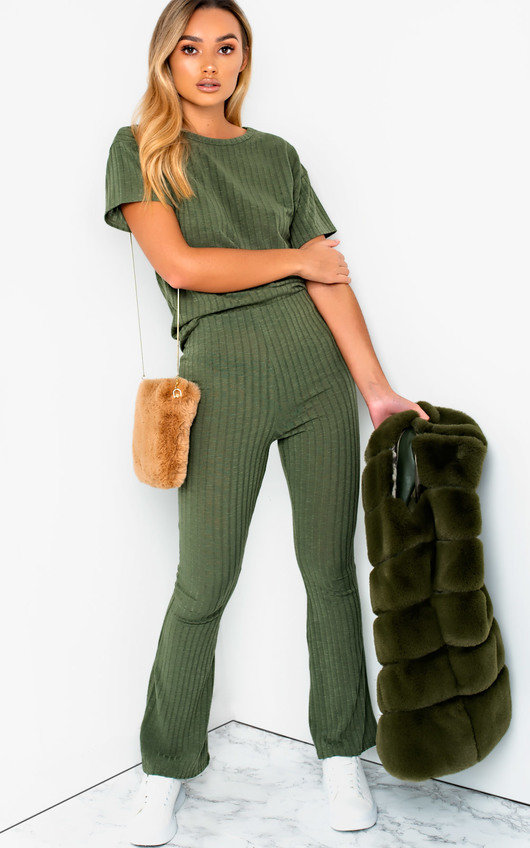 Brit Ribbed Lounge Co-ord